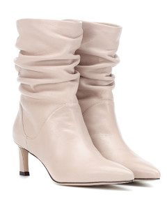 Demibenatar leather ankle boots