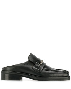 搭链穆勒鞋