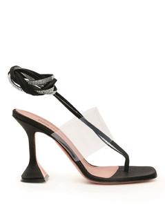 Sandals Amina Muaddi for Women Black