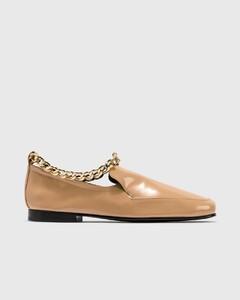 Nick Cream Semi Patent Leather Loafer
