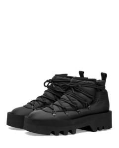 黑色Elle 85高跟涼鞋