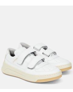 Steffey皮革运动鞋