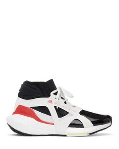 黑色&白色Ultraboost 21高帮运动鞋
