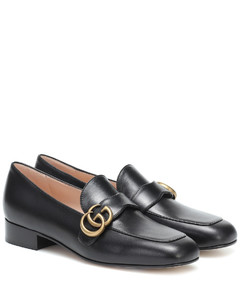 GG Marmont leather loafers