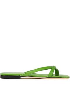 Woman Deni Crystal-embellished Leather Sandals