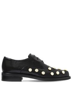 20mm Joh Embellished Leather Shoes