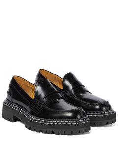 套穿式皮革乐福鞋