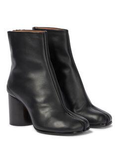 Tabi皮革及踝靴
