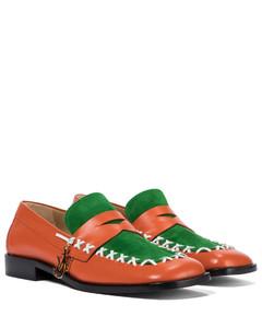 Stitch皮革乐福鞋