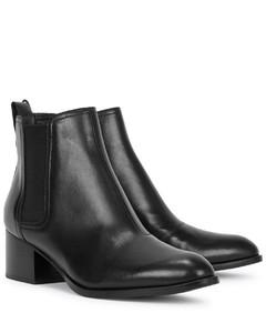 Walker 50 black leather ankle boots