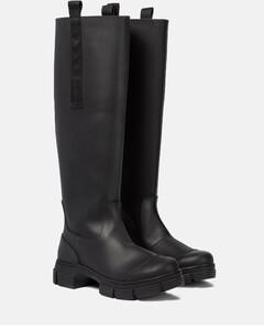 橡胶及膝靴