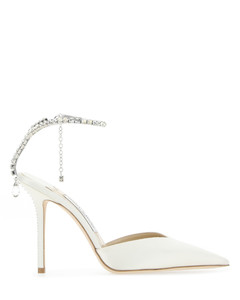HEELED MOCCASIN SILVER