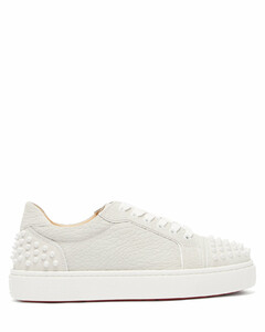 Vierissima spike-embellished leather trainers