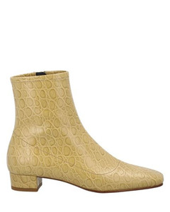 Este Embossed Ankle Boot