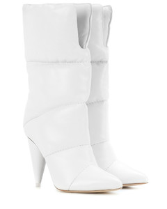 x Off-White Sara 100 leather boots