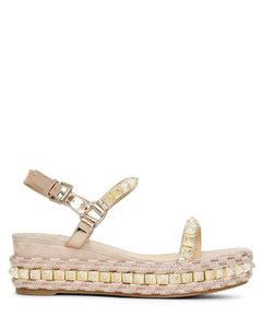 Pira Ryad 60 suede flatform sandals