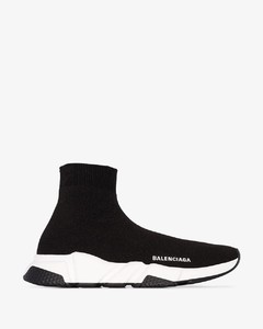 Black Speed sock sneakers