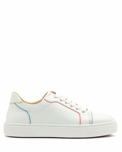 Vierissima painted-edge leather trainers