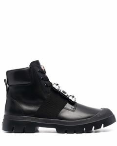 Viv desert leather biker boots