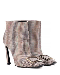 Trompette houndstooth ankle boot