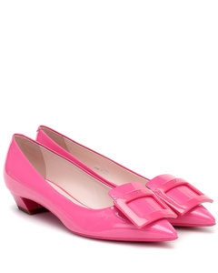 Gommetine 25 patent-leather ballet flats