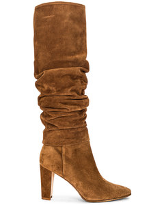 Shushanhi 90 Suede Boot in Brown,Neutral