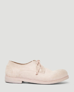 Classic Derby Shoes in Pink