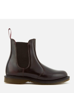 Women's Flora Arcadia Leather Leather Chelsea Boots - Cherry Red