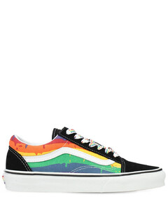 Old Skool Rainbow Drip Sneakers