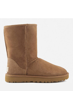Women's Classic Short II Sheepskin Boots - Chestnut