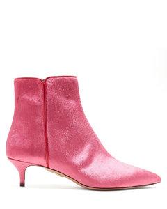 Quant 45 velvet ankle boots
