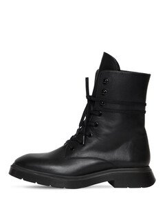 20mm Mckenzee Lace-up Leather Boots