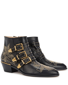Susanna 40 studded leather ankle boots