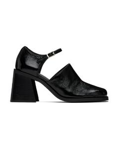 Women's Maxi Kup Leather Flatform Trainers - White/Blue