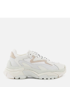 Women's Addict Chunky Running Style Trainers - Off White/White