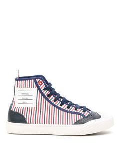 HI-TOP TRAINER SNEAKERS