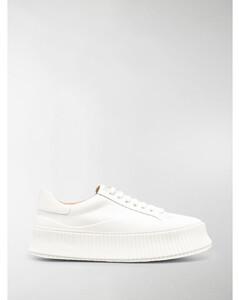 low-top platform sneakers