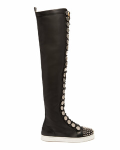 Butchetta Donna over-the-knee leather boots