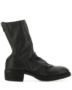 Back Zipped Boots