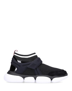 High-Top Sneakers BAKTHA neoprene nylon polyester velvet Logo black