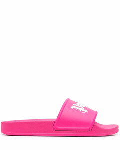 Leather espadrille slippers