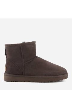 Women's Classic Mini II Sheepskin Boots - Chocolate