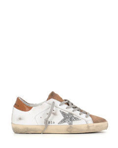 Woman Pearlogy Embellished Leather Sneakers