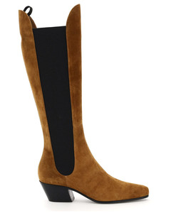 Boots And Booties Khaite for Women Caramel