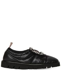 10mm Viv Winter Puffy Slip-on Sneakers