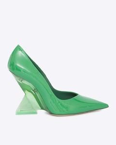 beige Zaneta leather moccasins