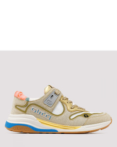Ultrapace golden sneakers