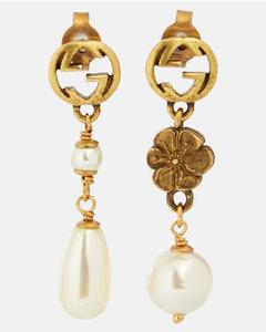 GG人造珍珠耳环