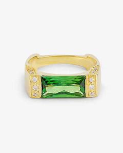 Fur-Trim Tassel Gloves