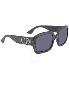 Grey Square Ladies Sunglasses DDIORPRN2K54